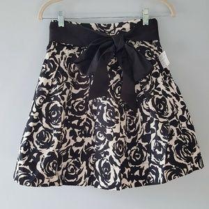 Forever 21 Full Mini Skirt Tulle Rose w Bow